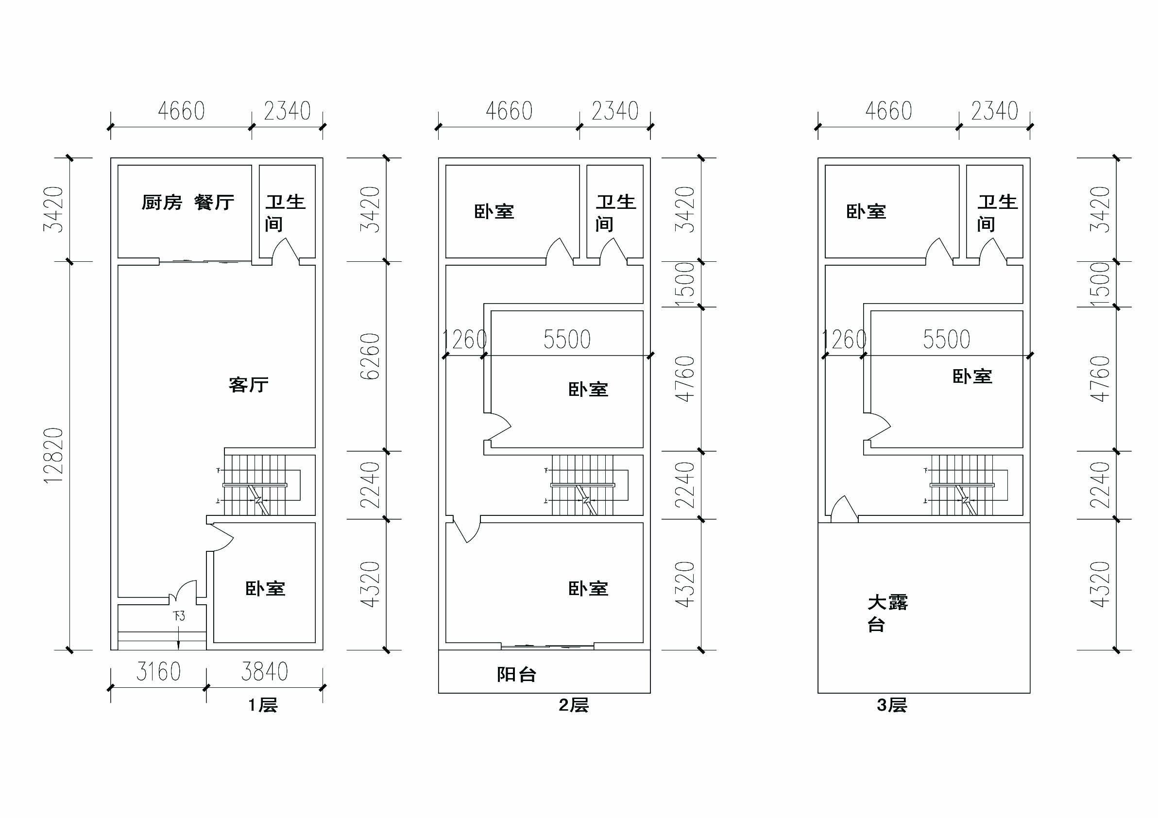 求农村用的长15m宽7米房屋设计图,谢谢