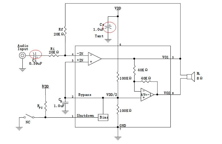 8002b功放电路问题
