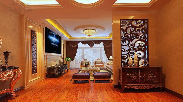 裸色墙纸,地板,家具是红木色配什么颜色窗帘