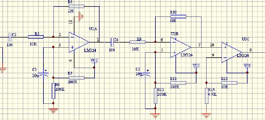 超声波 接收电路 运放问题