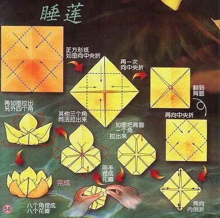 跪求一种简单而又好看的纸花折法!