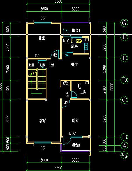 求八十平方房子平面设计图要求要三室一厅一厨一卫.总