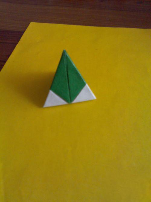 手工折纸 粽子