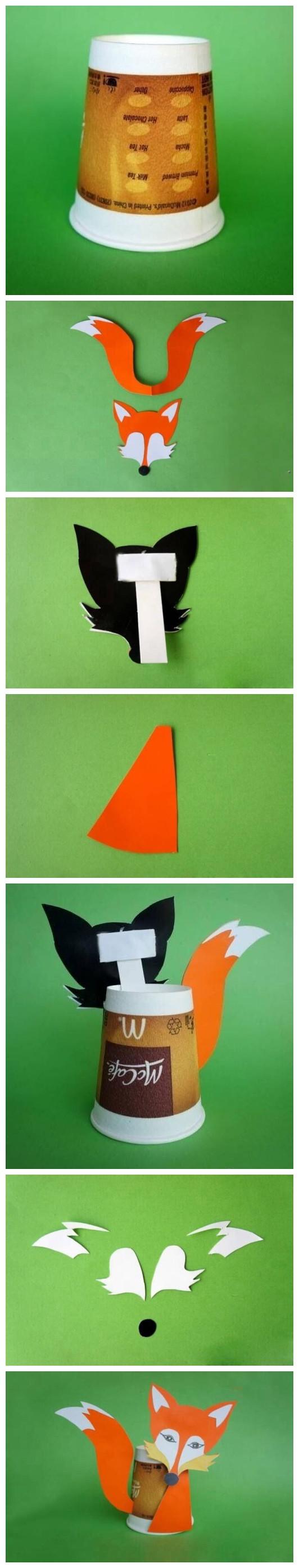 如何diy简单纸杯手工小制作方法图解