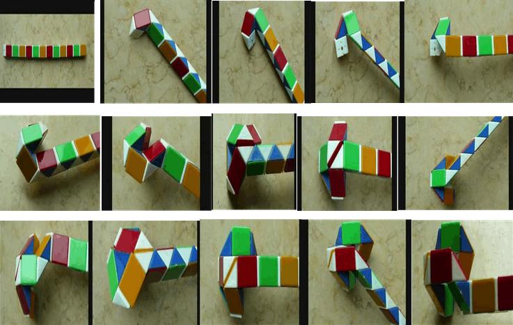 又叫魔棍,由24个三角形组成图片