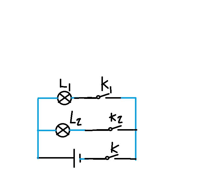 初中物理电路试题 根据实物图画电路图