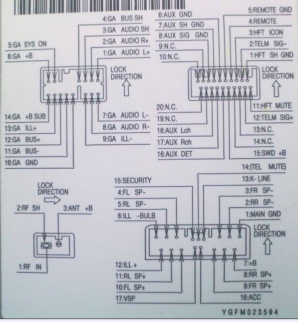 本田cd电源接线图