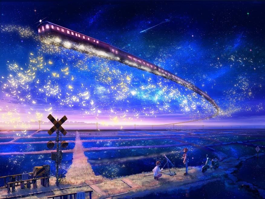 展开全部 其实亲~你可以根据宫崎骏动漫天空之城来改编.这次科幻画.图片