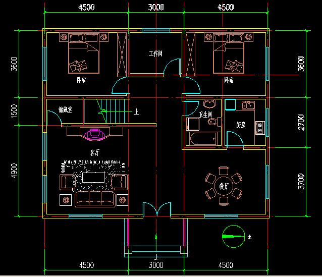 求2楼平面设计图,急急急!