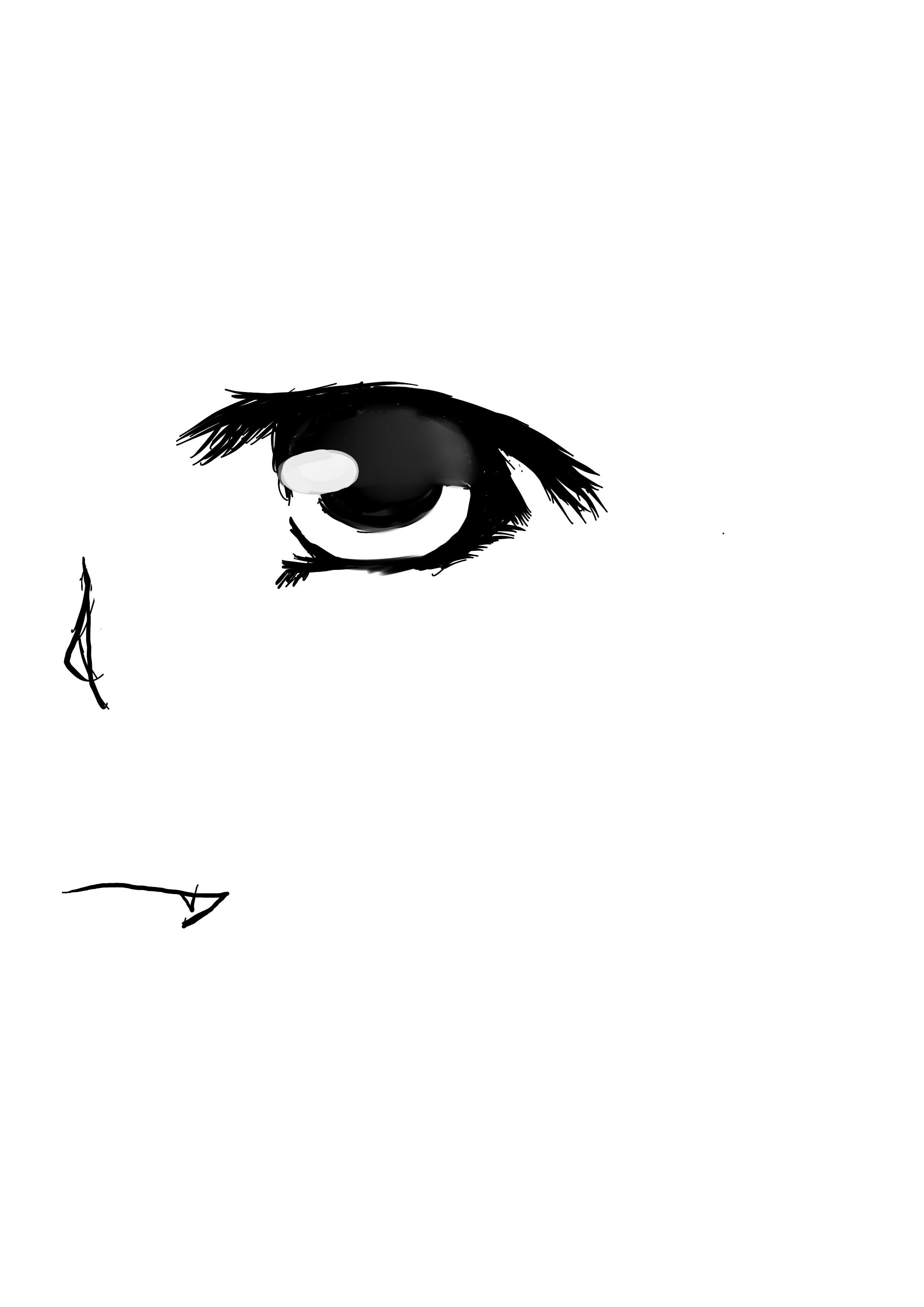 怎么画漫画人物眼睛【图】图片