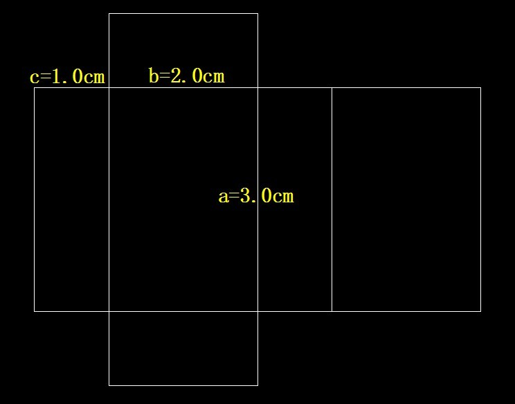 如何展开画正方体长方体