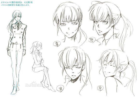 学习画动漫人物