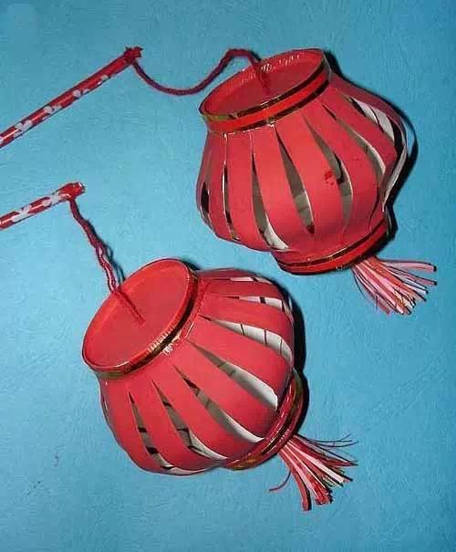 端午节手工灯笼制作 如何用纸杯做灯笼
