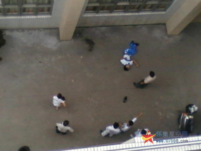 2010怀集一中学生跳楼事件.