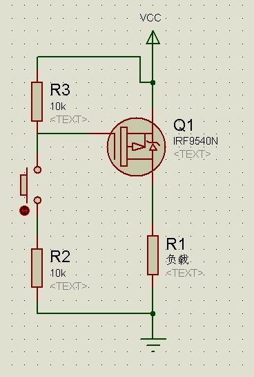 能不能用场效应管做个开关电路