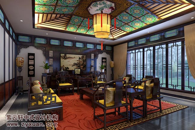 紫云轩中式设计机构怎么图片