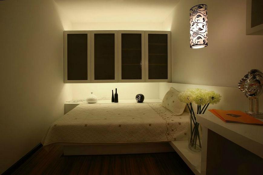 没窗户的卧室怎么装修效果图