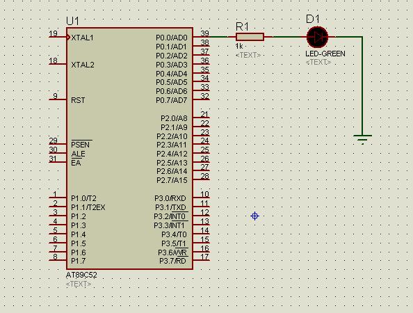 关于单片机发光二极管接电阻的问题作文网我想当初中也图片