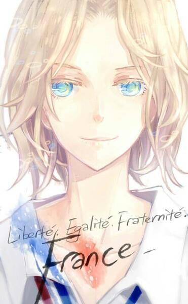 动漫美男图片,要银色短发,蓝色眼眸的