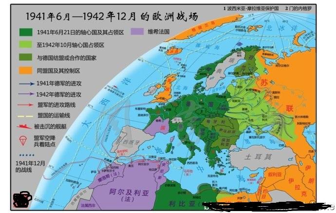 欧洲出了德国建立起来的俄罗斯解放军算傀儡政权吧,其余被占领区基本图片