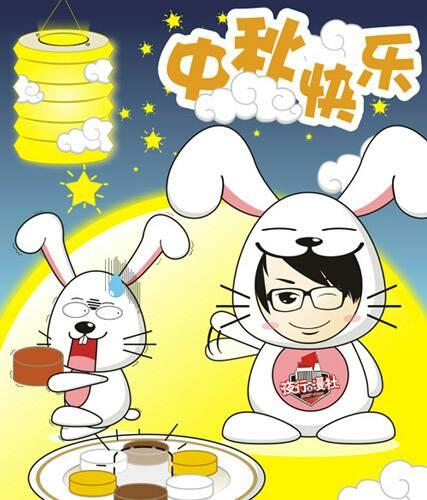 小学中秋节画画