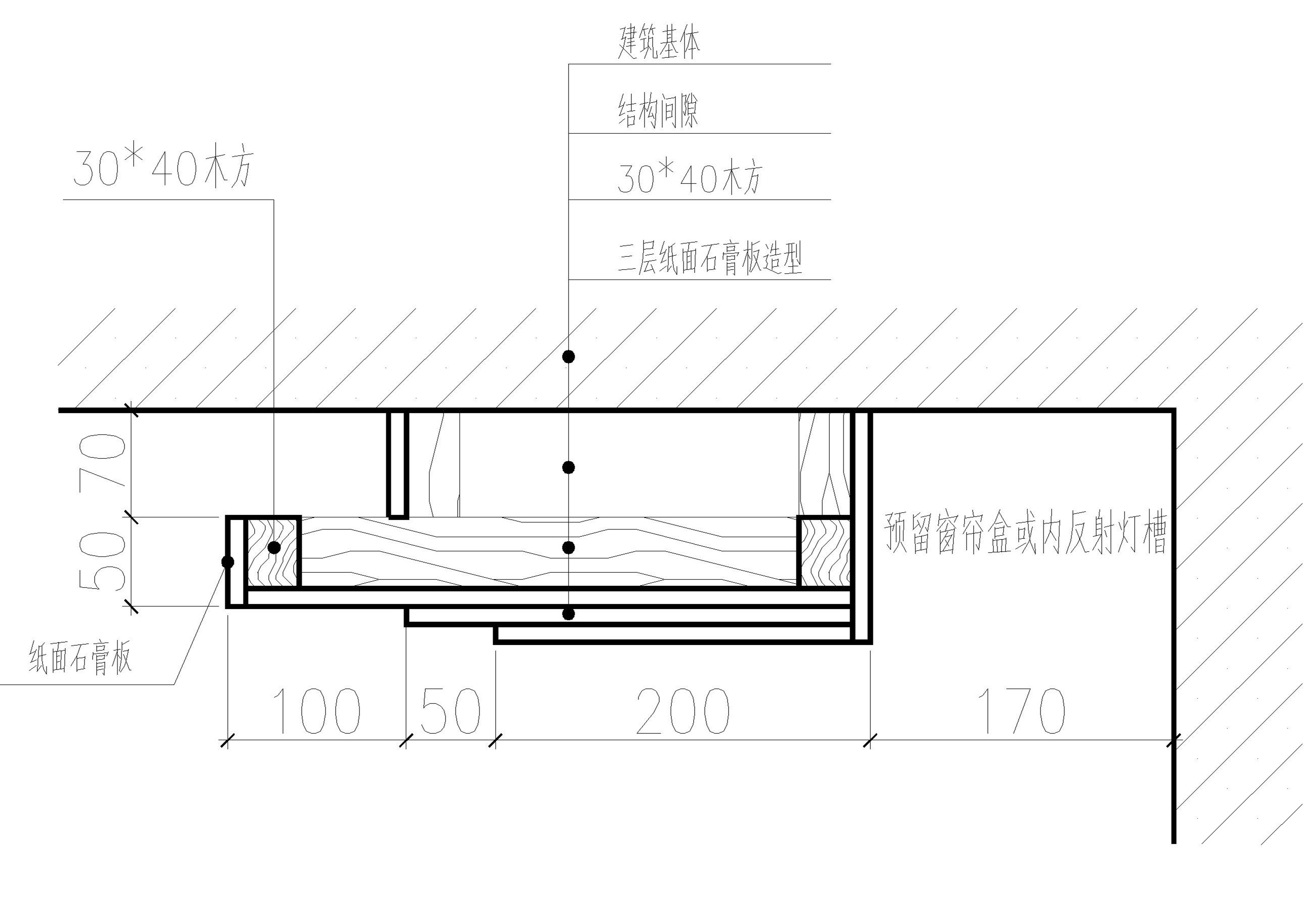 求客厅吊顶安装结构图解(龙骨铺设)求大神指导