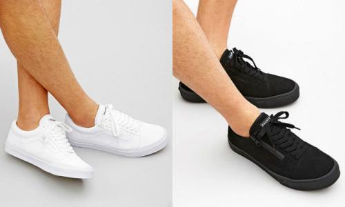 四孔高跟鞋鞋带的系法图解