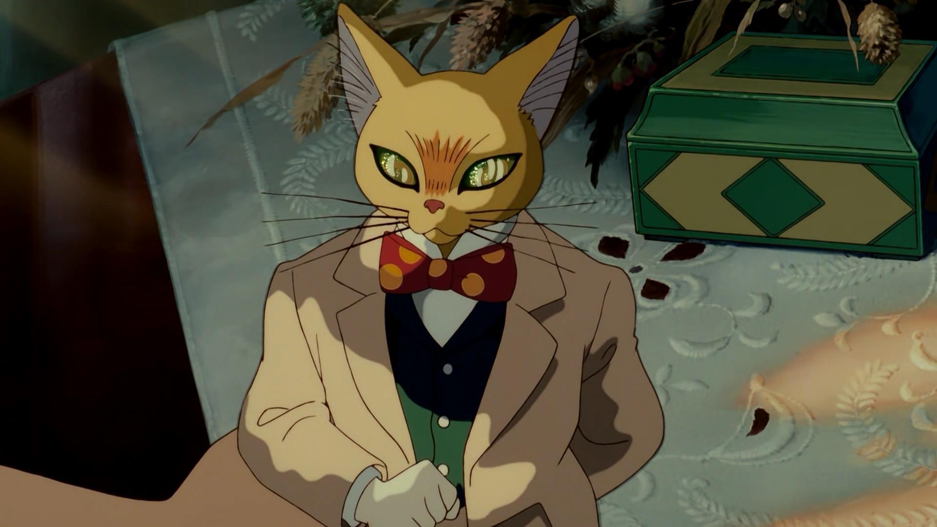 动画片猫的报恩和侧耳倾听的电影是不是同一只猫?毕业生男爵英文版图片