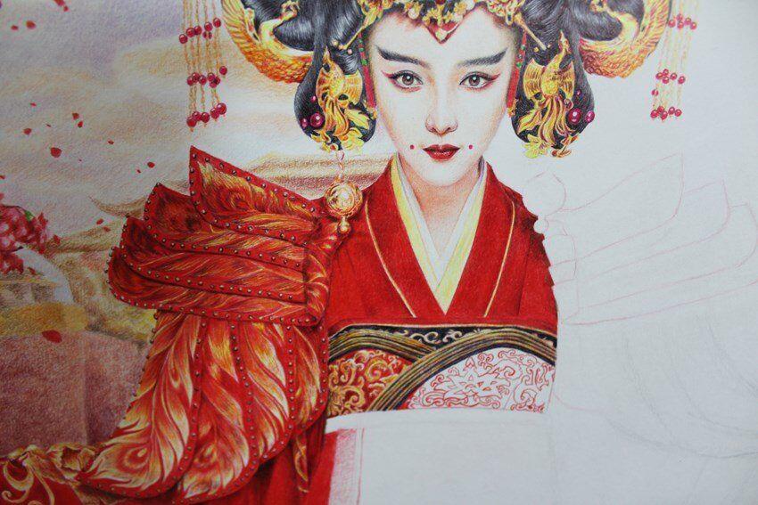 甄嬛传,武媚娘传奇精品手绘图片