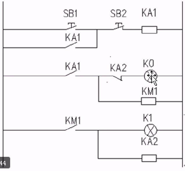 plc 西门子s7-200 这个电路图有点看不懂,感觉有些地方重复的,请教下!