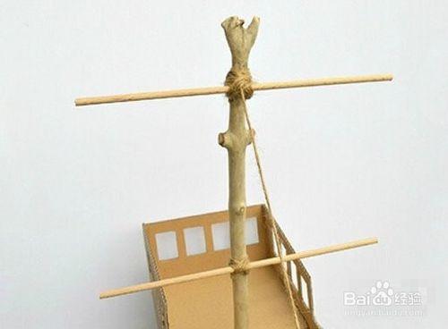 如何diy船模型制作方法图解