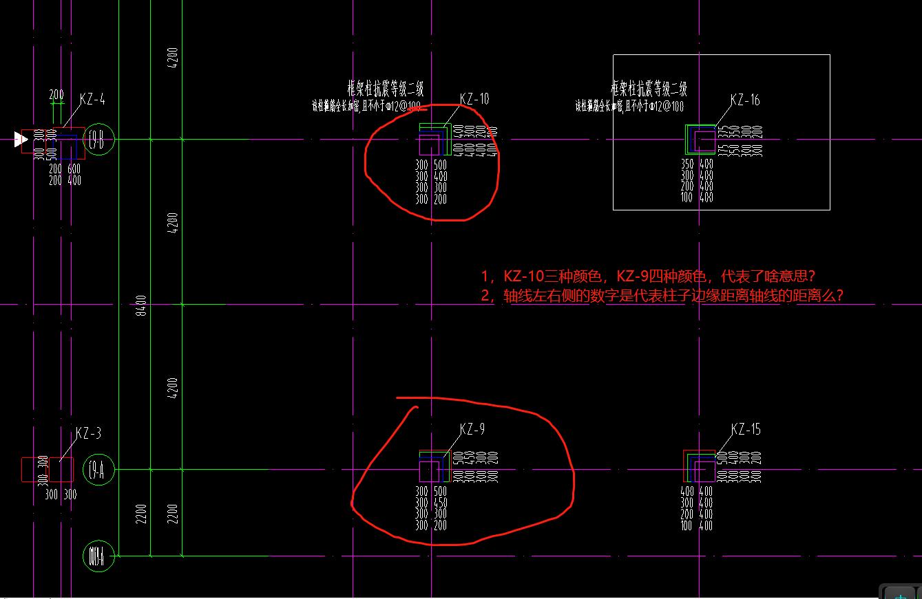 线条角钢上,这些结构预埋啥图纸?坑表示意思地表示图纸图片