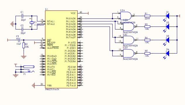 如何设计8路彩灯控制器?