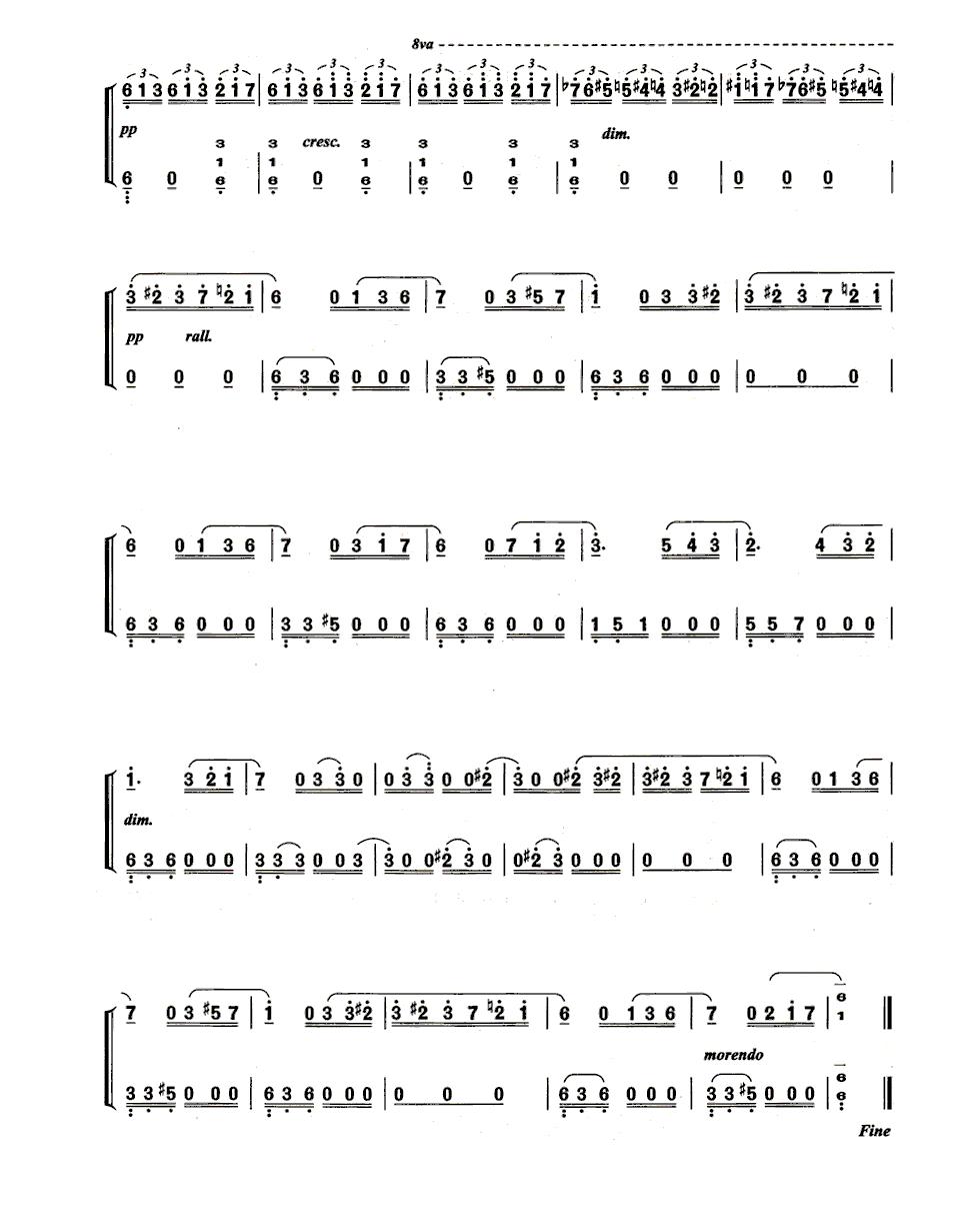 《献给爱丽丝》(für elise)是贝多芬创作的一首其钢琴小品.