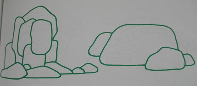 石头的简笔画怎么画石头的简笔画怎么画图片