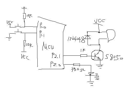 电路 电路图 电子 原理图 500_350