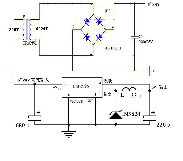 电路 电路图 电子 原理图 595_524