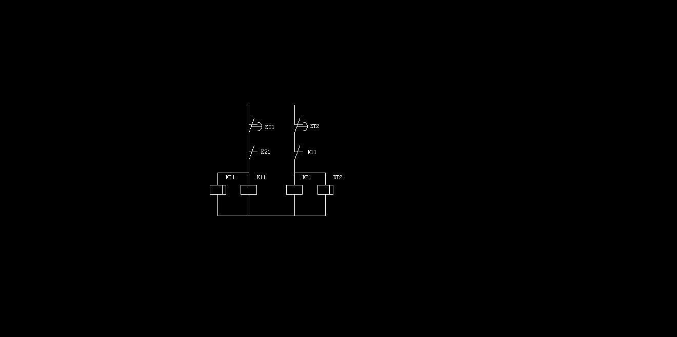 增强断电延时继电器,加点操作缓冲时间,大约0.3s~0.5s就可以了
