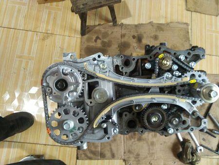 丰田3rz发动机正时怎么安装
