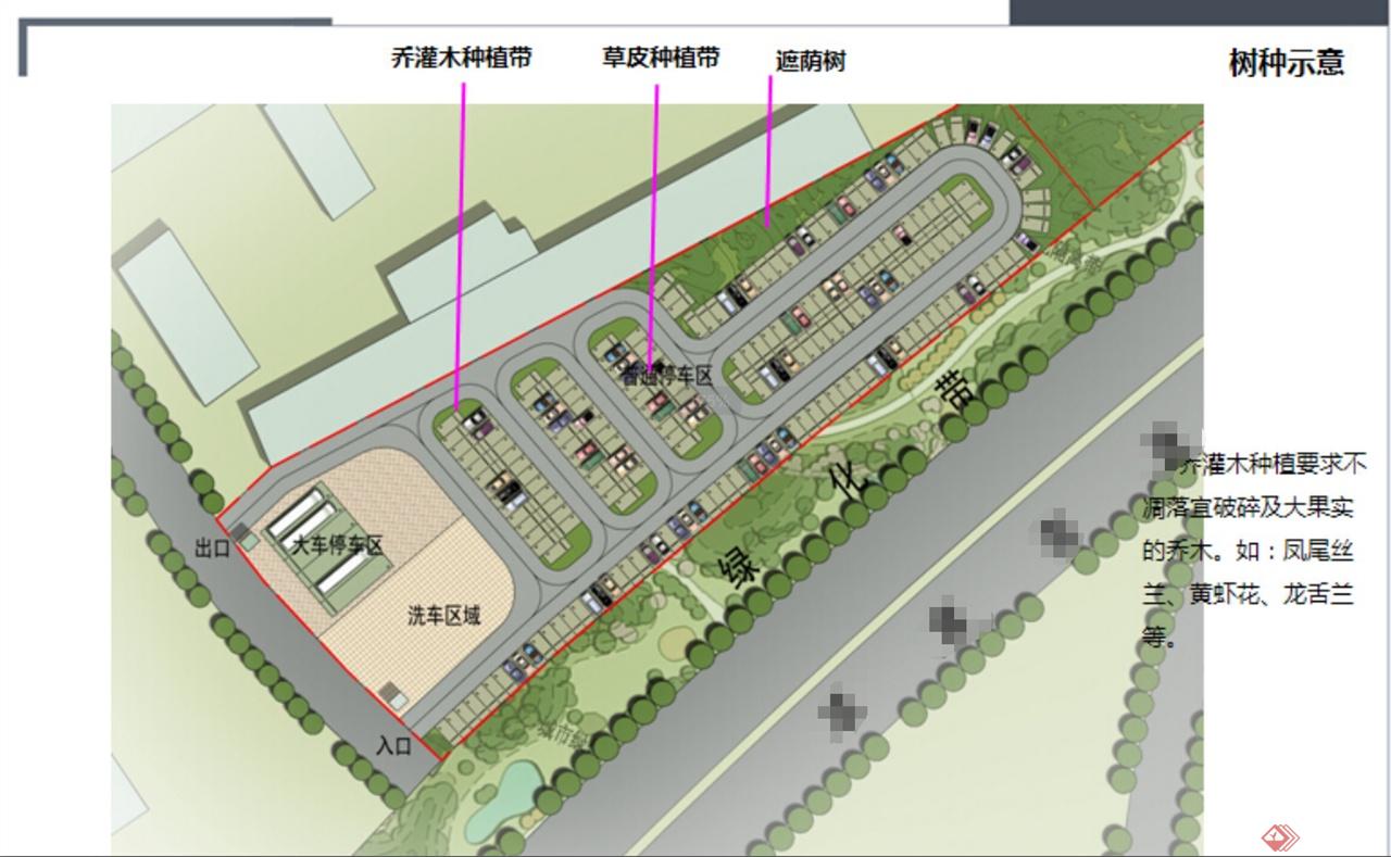 停车场规划设计规则的介绍图片
