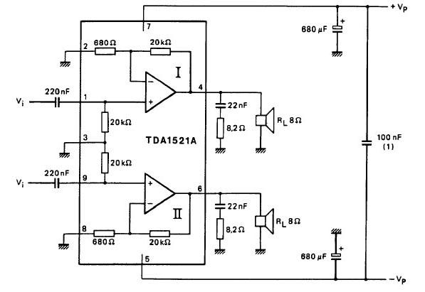 这是集成电路制造厂方给出的otl电路