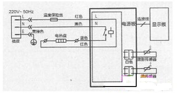 美的智能电饭煲mb-fd4018电路图