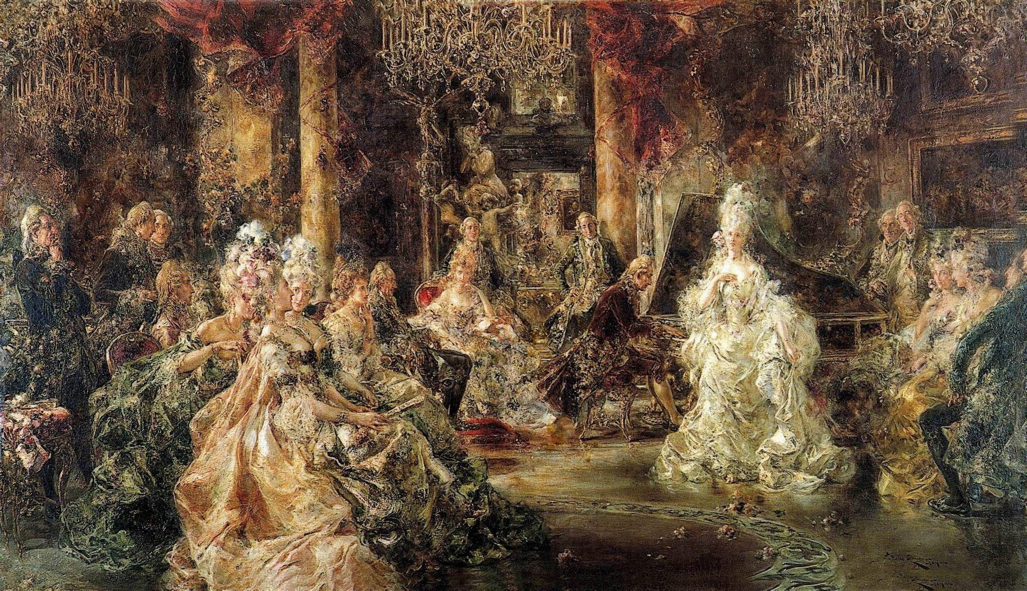 世界著名的宫廷油画家都有哪些?