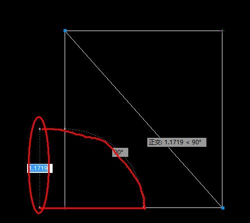 cad2012拉直线的圆弧取消周围的时候2007cad用天正什么图片