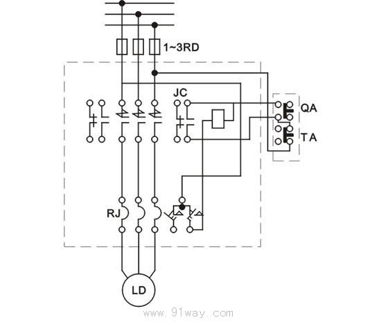 机械电路接线图