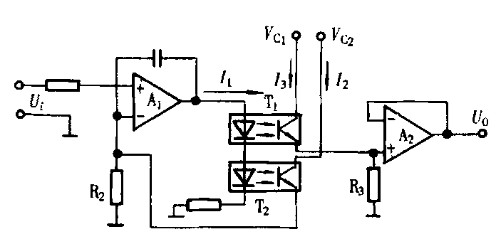 采用光耦隔离可以很好地实现弱电和强电的隔离,达到抗干扰目的.
