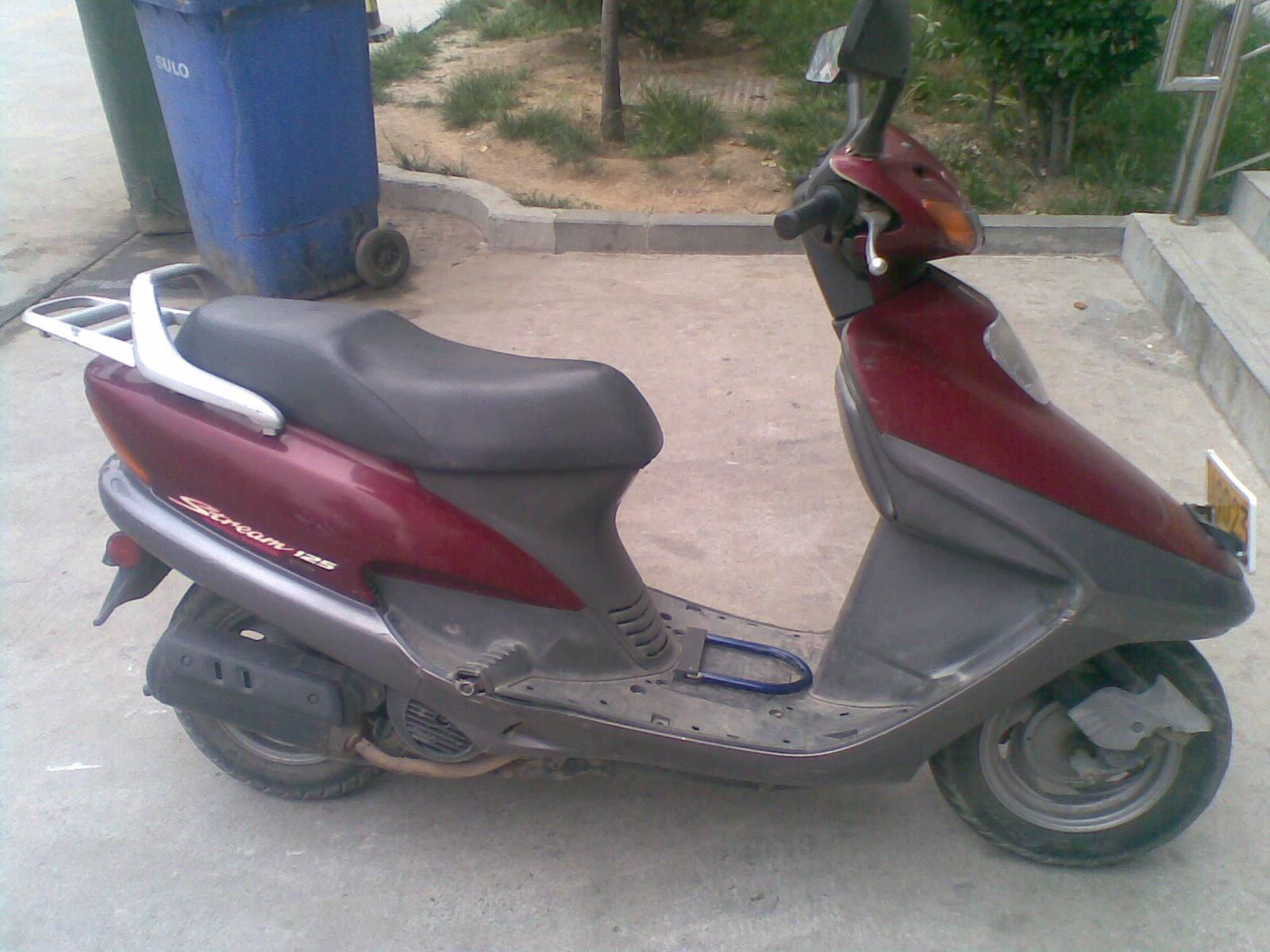 我的踏板摩托车是五羊本田大公主 油门加速到30公里的