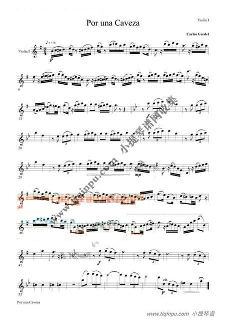 可以把只差一步那个小提琴谱给我一下么?