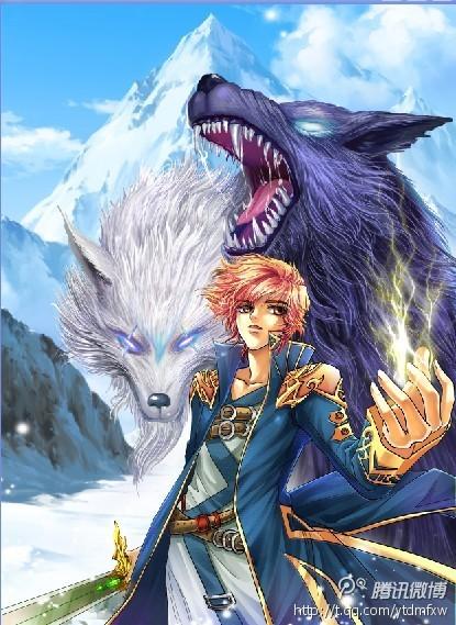 《兽王》《雪原狼王》封面图片(不带字) 像这样