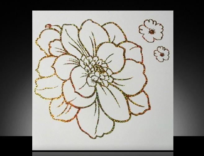 怎样画牡丹花